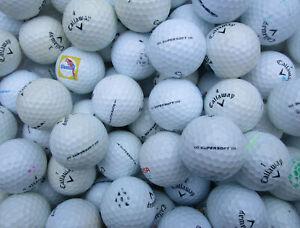 100 Callaway Supersoft  Golfbälle   AAA - AA