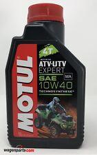 Aceite lubricante motor Quad Motul ATV-UTV Expert 4T sae 10W40 MA 1 L