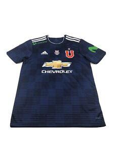 Adidas Universidad De Chile Jersey Size M Mens Blue