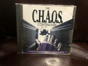 C.H.A.O.S Chaos Continuum Cinematic Science Fiction Adventure on CD Rom