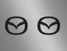 Mazda 2,3,5,6, MX-5 RX-8 Front Back Sides Car Vinyl Decals Stickers Badge Window