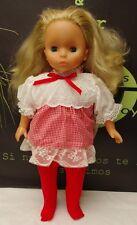 "Lissi Dolls Very Cute Girl Doll 18"" Blonde Green Eyes"