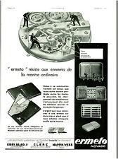 Publicité ancienne bijou montres Ermeto Movado 1931 issue de magazine