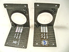 "Carbon fiber switch bracket or brace 2"" hole Late Model  Nascar ARCA"