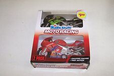 KIDS STUFF MOTO RACING FRICTION POWERED 2 PACK BIKES Fast Action & Exciting! WOW