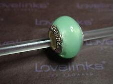** Genuine Lovelinks * SPRING GREEN MIST Murano Glass Bead **