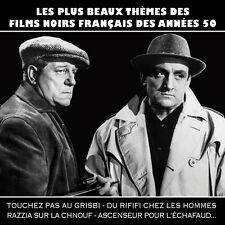 Cd the finest black movies themes french years 50