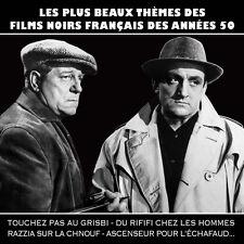 CD Les plus beaux thèmes des films noirs français des années 50