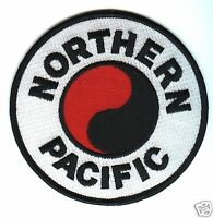 RAILROAD PATCH - Northern Pacific 4""