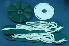 Swingset disc swing two rope swings, playset,playground,roped disc swing,GYRB