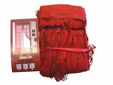 Tenda a fili cm.140x290 Rosso.Interno esterno millefili fiore Sale awning