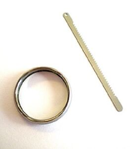 Titanium Escape Ring A must have for escaping captivity Includes hidden saw