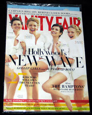 2008 (Aug) Vanity Fair KIRSTEN STEWART Hillary Clinton (NEW SEALED)