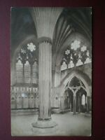 POSTCARD SOMERSET WELLS CATHEDRAL - CHAPTER HOUSE