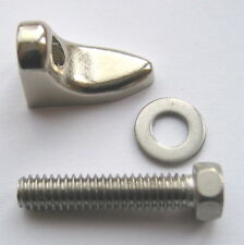 BANJO STAFFA SCARPA e bolt-american pattern, placcati nichel.