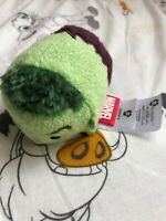 The Disney Store Mini Tsum Tsum Plush Soft Toy Marvel Incredible Hulk