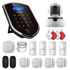 Wolf-Guard Wireless WIFI 3G Home Security Alarm System IP Camera PIR Door Sensor