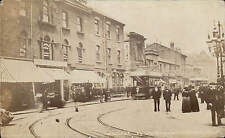 Rotherham. College Square by Westgate. Tram.