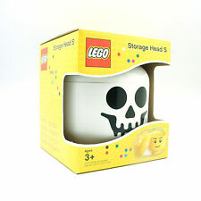 [LEGO] BPA Free Brick Storage Head Small Bin Container Carrying Case_Skeleton