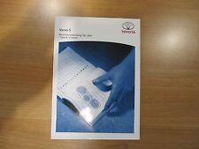 Original Toyota Verso S Betriebsanleitung für den Touch Screen OM52B79M Neu