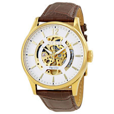 Invicta Objet D Art Automatic White Skeleton Dial Mens Watch 22595