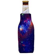 Insulated Can & Bottle Cooler Drink Cooler Brown Bag Hobo Art Chic Koozie Hugger