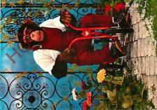 Picture Postcard: Monkey, On Bike