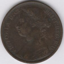 1876 H Victoria One Penny | British Coins | Pennies2Pounds