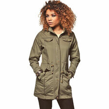 Brave Soul Patternless Hip Coats & Jackets for Women