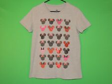 Minnie Mouse Disney Parks Womens Size XL Extra Large Gray Geometric T Shirt
