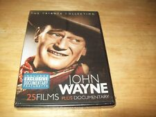 John Wayne: The Tribute Collection (DVD, 2011, 4-Disc Set) Brand New, Sealed