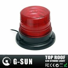 Car Magnetic LED Emergency Beacon Flash Strobe Warning Light 12V 15W Red