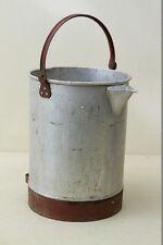 large old Oil bucket, Jug - Container Oil can, Workshop Petrol station, 10 Liter