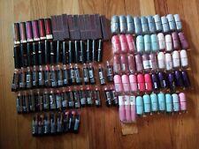119 Piece Lipstick and Nail Polish Lot
