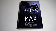 Peter & Max A Fables Novel Hardcover | Bill Willingham and Vertigo Comics | NEW