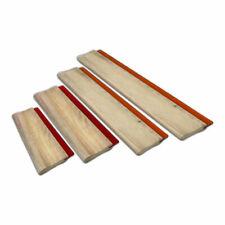 New Listing4pcs Wood Squeegee Ink Scraper 63 94 13 18 Scratch Board For Screen Print