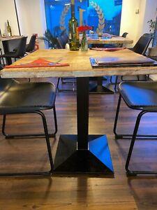 Restaurant Hotel schwarz 5002-5//B Tischbasis Pub Tisch