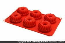 Paderno  Flexipad   Moule flexible en silicone - 6 Kouglofs