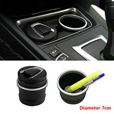 1pcs High Quality Car Ashtray Double-layer Fireproof for Car Cup Holder Decor