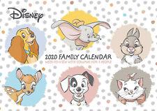 Disney Heritage 2020 Planner Calendar, Family Organiser Wall Decoration