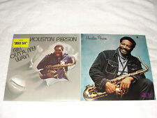 """(2) SEALED LP's - Houston Person """"Get Out'a My Way"""" , """" '75"""" 1070's Jazz"""