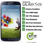 Samsung Galaxy S4 GT-I9505 16GB (Black) Unlocked SIM Free Smartphone