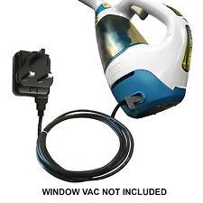 VETRO WINDOW Vac Vuoto Caricabatterie Alimentazione Per Black and Decker WW100