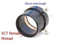 "2"" female to SCT Male Celestron C8 C925 C11 C14 C8HD C11HD telescope adapter"
