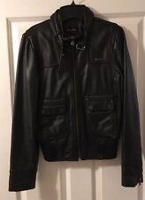 Sean John Womans Leather Jacket (M)