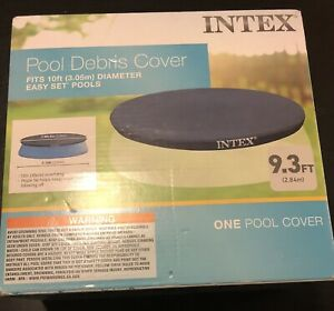 NEW OPEN BOX Intex 28021E Easy Set Round 10ft. Diameter  Pool Debris Cover