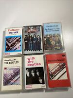 6 Rare The Beatles Cassette Tapes Sgt.Peppers Hey Jude 1962-1970 And More
