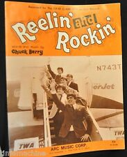 Dave Clark Five Reelin and Rockin by Chuck Berry Sheet Music 1958