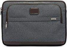 Tumi 249072 Mens Alpha Large 15 Inch Laptop Cover Bag Computer Case Anthracite