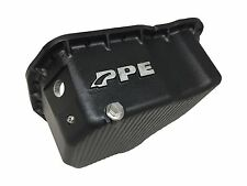 PPE 2001-2010 DURAMAX ENGINE OIL PAN CHEVY GMC MADE IN U.S.A. FLAT BOTTOM BLACK